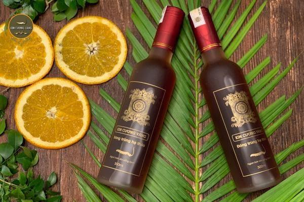 Cặp Rượu Đông Trùng Hạ Thảo 300ml